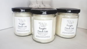Pumpkin Crunch Cake Scented Natural Soy Candle | Hand-Poured and Hand-Crafted