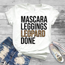 Load image into Gallery viewer, Mascara Leggings Leopard Done T-Shirt