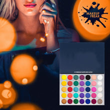 Load image into Gallery viewer, Makeup Freak FREEDOM 35 Color Pigmented Eyeshadow Palette With Glitter Summer