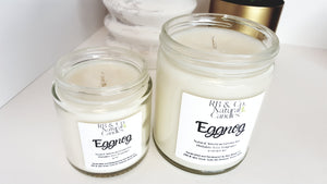 Eggnog | Natural Soy Candle | Hand-Poured and Hand-Crafted