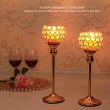 Load image into Gallery viewer, Crystal Tealight Candle Holders