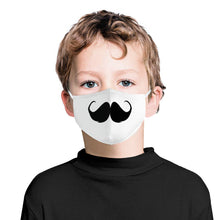 Load image into Gallery viewer, Cute Mustache | Kids Adorable Face Mask