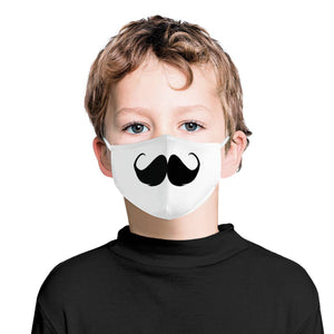 Cute Mustache | Kids Adorable Face Mask