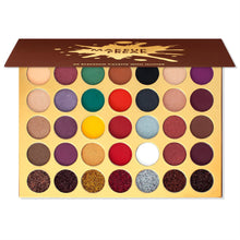 Load image into Gallery viewer, Makeup Freak Blessing 35 Color Pigmented Eyeshadow Palette With Glitter Autumn