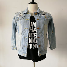 Load image into Gallery viewer, Boyfriend Wind Jean Jacket