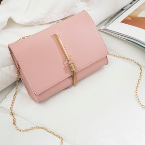 &40 Shoulder Bag Lady Shoulders Tassel Package Letter Purse Mobile Phone Messenger Bag Carteras Mujer De Hombro Y Bolsos Purse