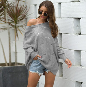 Loose Pullover Sweater
