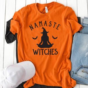 Namaste Witches Graphic Tee