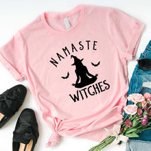 Load image into Gallery viewer, Namaste Witches Graphic Tee