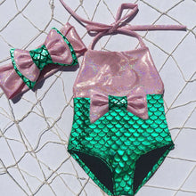 Load image into Gallery viewer, Under The Sea Baby Girls Mermaid Swim