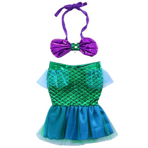 Under The Sea Baby Girls Mermaid Swim