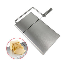 Load image into Gallery viewer, High Quality Stainless Steel Cheese Butter Bread Slicer Tools Easy to Clean Cutting Table Board Kitchen Supplies Kitchen Tools