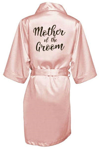Bridal robes for Bride and Bridesmaids