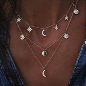 Stackable Pendant Neckless