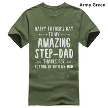 Load image into Gallery viewer, Mens Happy Fathers Day T-Shirt