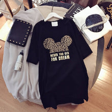 Load image into Gallery viewer, Leopard Print Minnie Tee