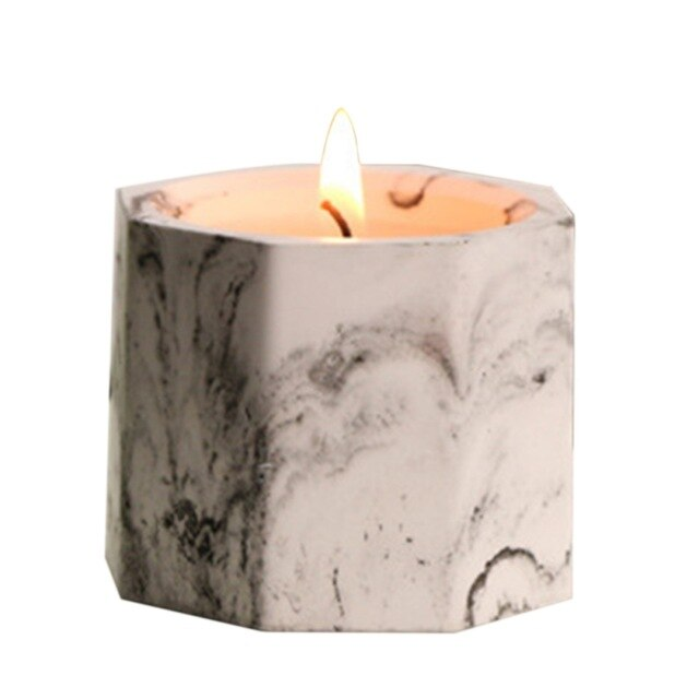 Marbled Aromatherapy Candles