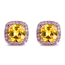 Load image into Gallery viewer, Luxury Crystal Zircon Stone Earrings