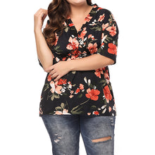 Load image into Gallery viewer, Loose Floral Blouse