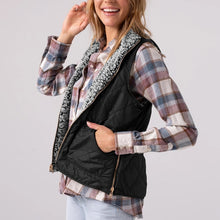 Load image into Gallery viewer, Sleeveless Zipper Pockets Double-sided Wear Jacket