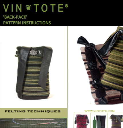 Vintote 'Back Pack' Kit plus Pattern