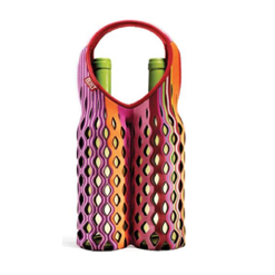BUILT NY Two Bottle Fishnet Wine Tote