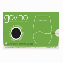 Govino Wine/Cocktail Glass - 12 ounce 4 pack