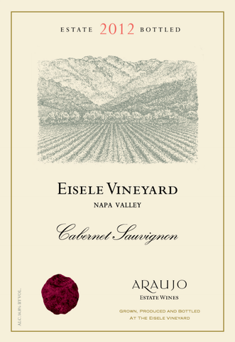 Araujo Estate 2012, Eisele Vineyard, Napa Valley, Cabernet Sauvignon