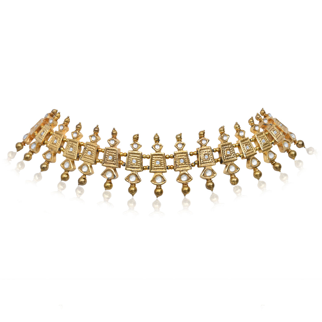 DYNASTY CHOKER/HAIRBAND