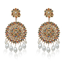 Load image into Gallery viewer, Jaipur Naurattan Earrings