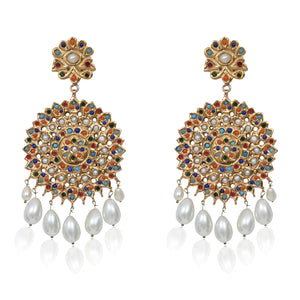 Jaipur Naurattan Earrings