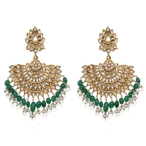 Agra Fan Earrings