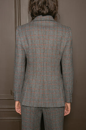 PRINCE OF WALES DOUBLE BREASTED JACKET