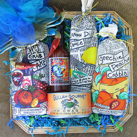 Crab Cakes To Go Basket
