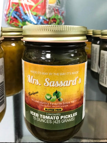 Mrs. Sassard's Iced Tomato Pickles
