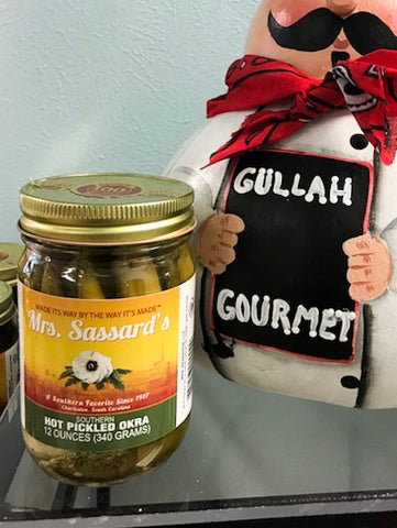 Mrs. Sassard's Hot Pickled Okra