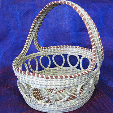 Looped Fruit Basket with Handle