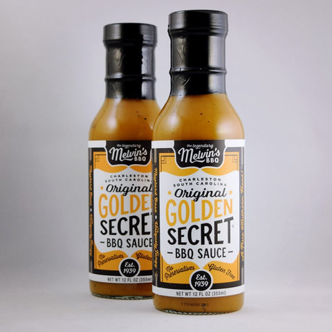 Melvin's Original Golden Secret BBQ Sauce