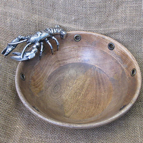 Mud Pie Lobster Large Serving Bowl