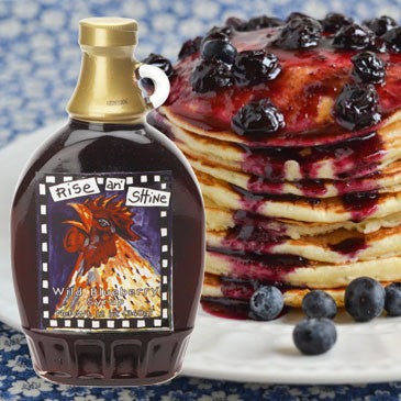 Rise An' Shine Blueberry Syrup