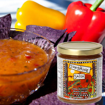 Sunshine Salsa Vidalia Onion Peach Salsa