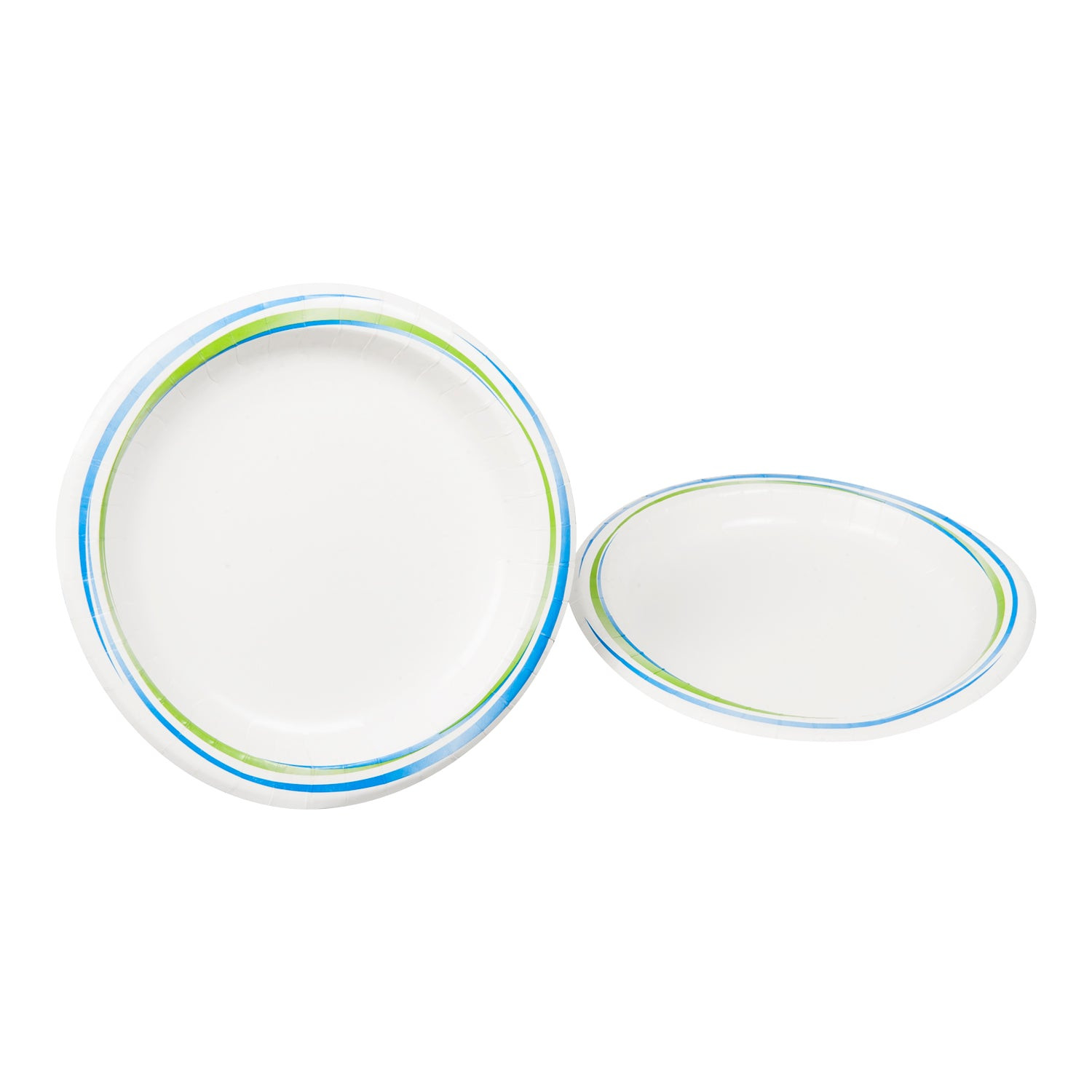 "Sysco Trendz Heavy Weight Paper Plate 8.5"" Canadian - 500 Pack [$0.08/each]"