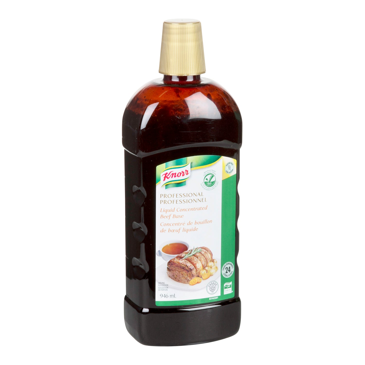 Knorr Professional Liquid Concentrate Beef Base 946 ml - 4 Pack [$17.00/each]