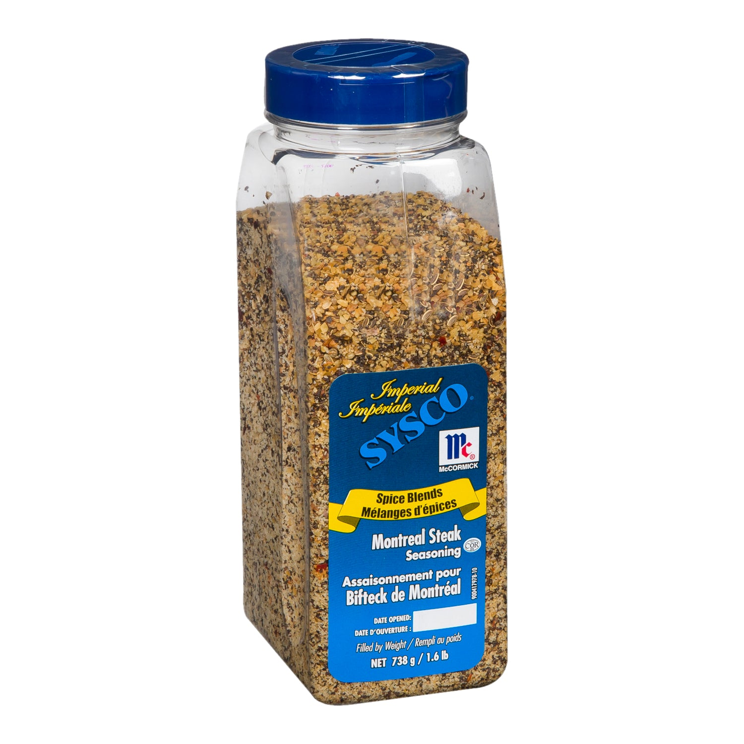 Sysco Imperial Montreal Steak Spice 738 g - 1 Pack [$13.49/each]