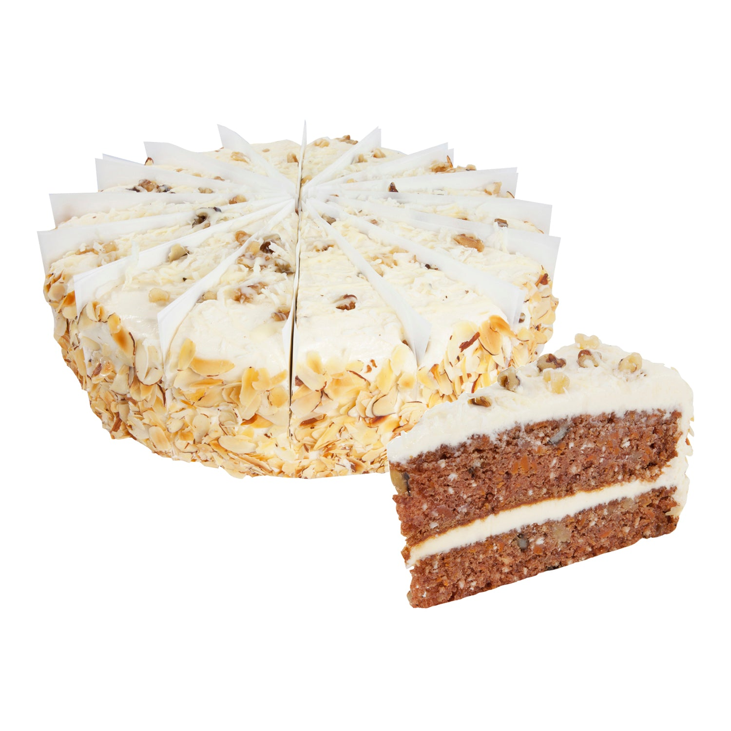 "WOW Factor Frozen Colossal Carrot Cake 10"""" - 2 Pack [$42.75/each]"