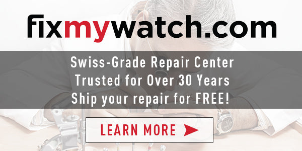 FIXMYWATCH.COM REPAIR SERVICES