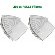 PM 2.5 Filters (For Reusable Face Masks)