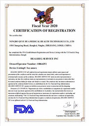 FDA certification for KN95 Mask