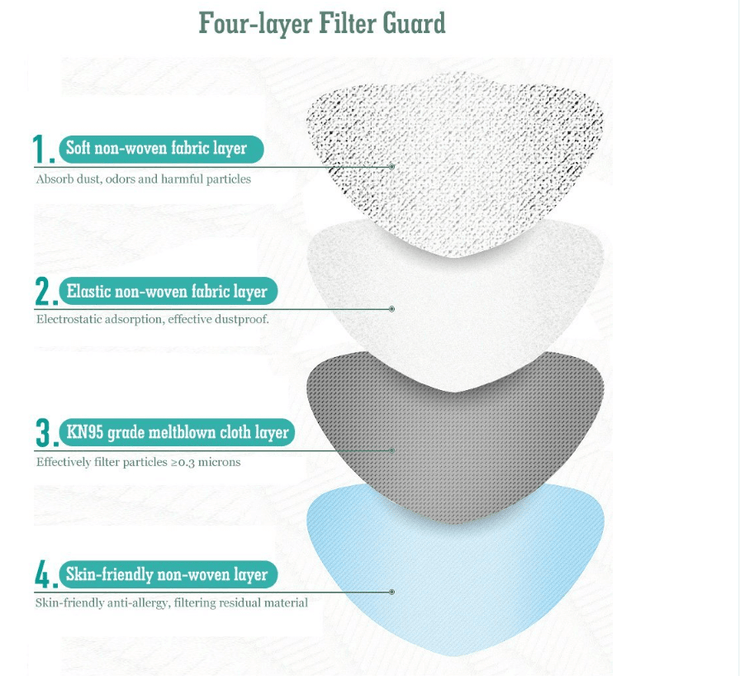 4 layer filter guard