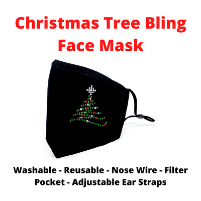 Christmas Tree Holiday Face Mask